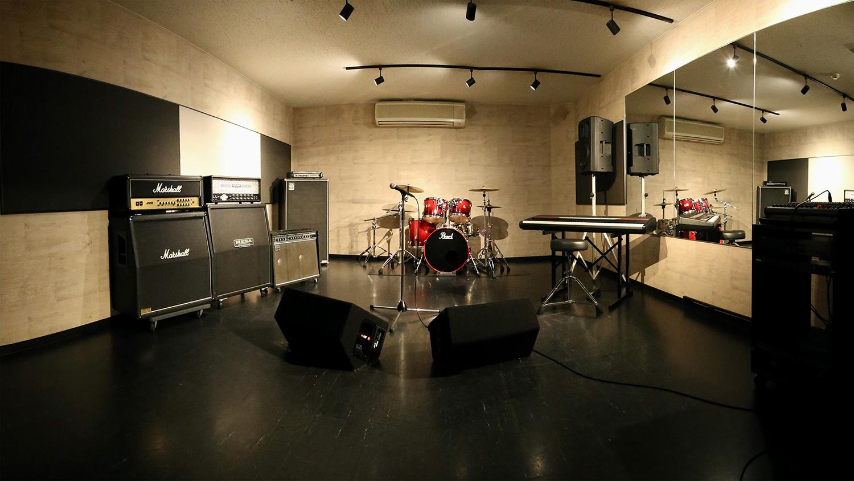 福岡のスタジオゴンスタジオ:Aスタ全体像