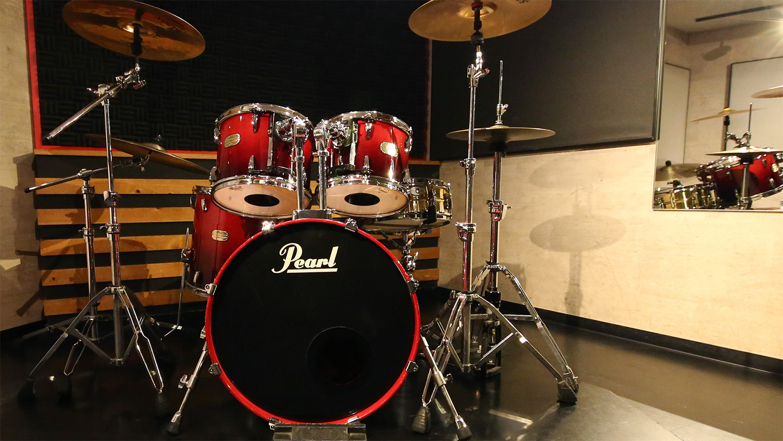 Bスタジオのドラムセット:ゴンスタジオ天神