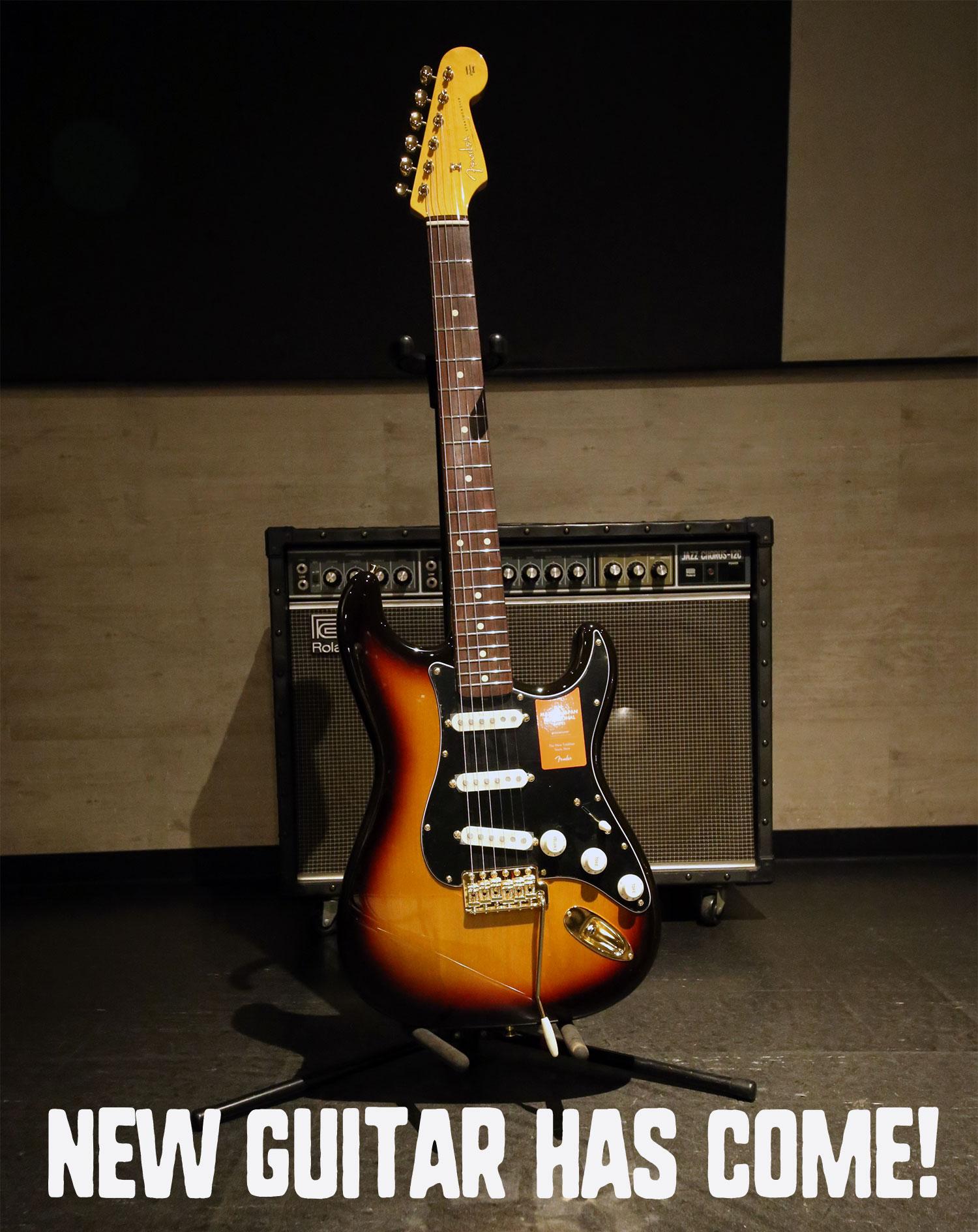 福岡の音楽スタジオ、ゴンスタジオに新レンタルギター登場!