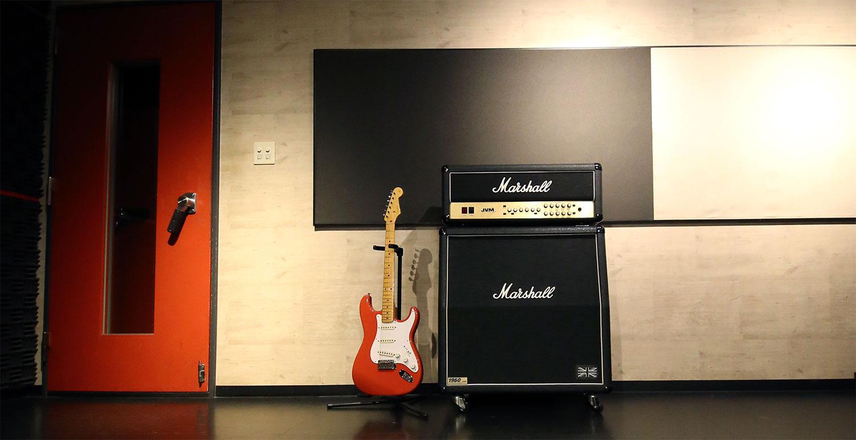 マーシャルJVM210H|天神ゴンスタジオ常設ギターアンプ