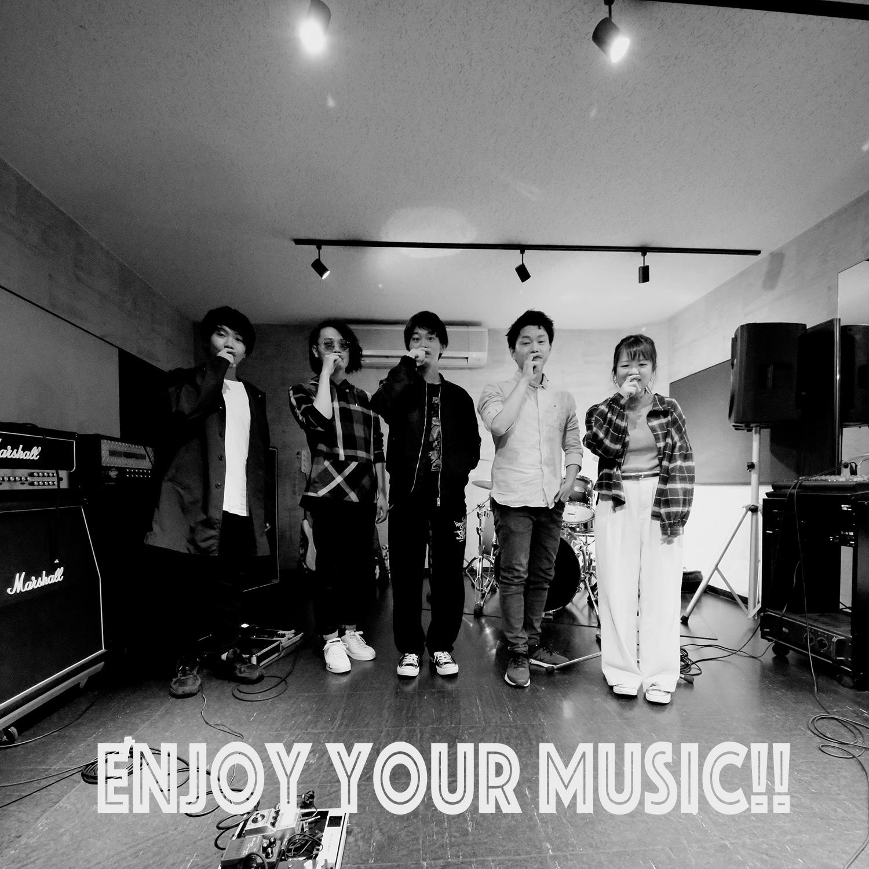 ライブへ向けたバンドリハーサルはゴンスタジオで!