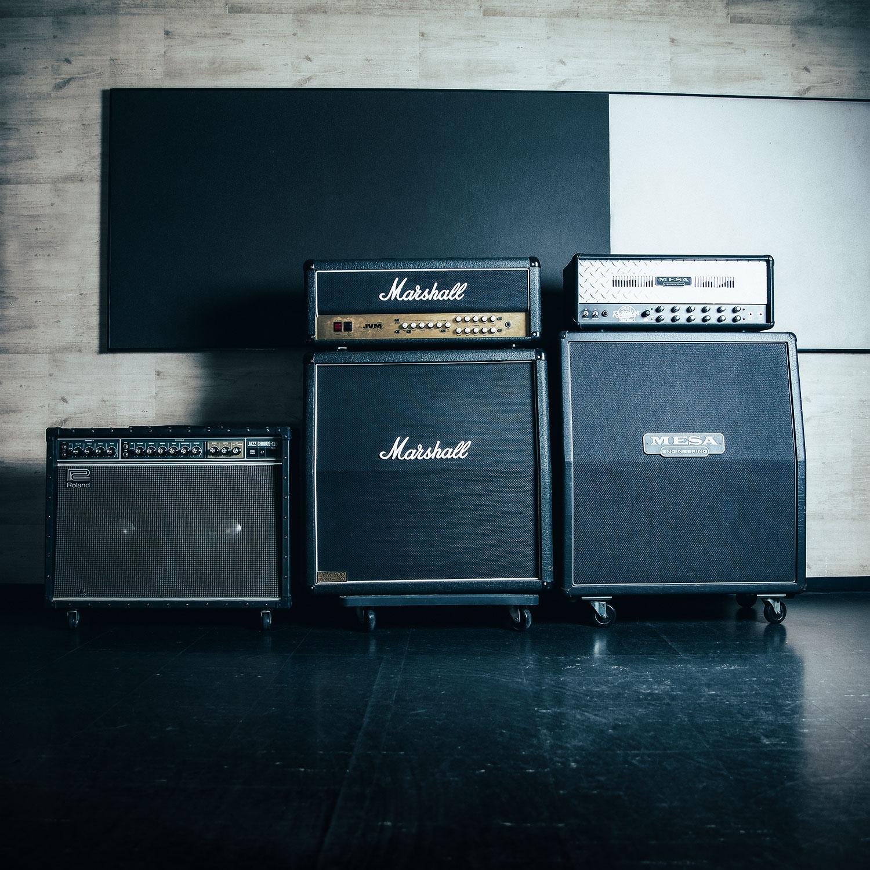 Aスタジオ のギターアンプ紹介。