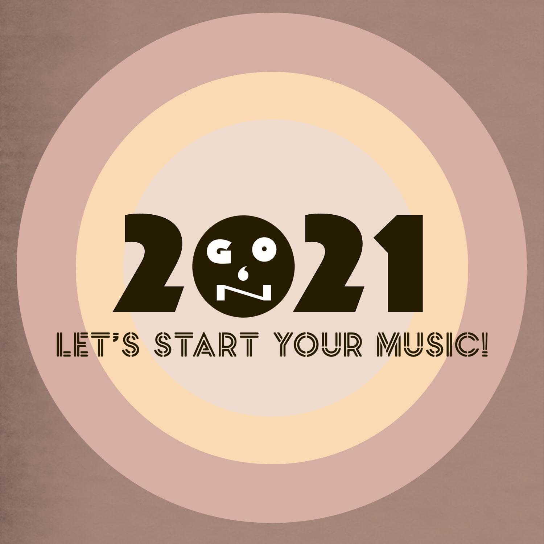 2021年あなたのステキな音楽をスタートさせましょう。